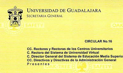 Circular Nº 16 – 2020