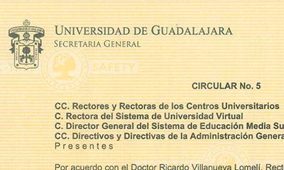 Circular Nº 05 – 2021
